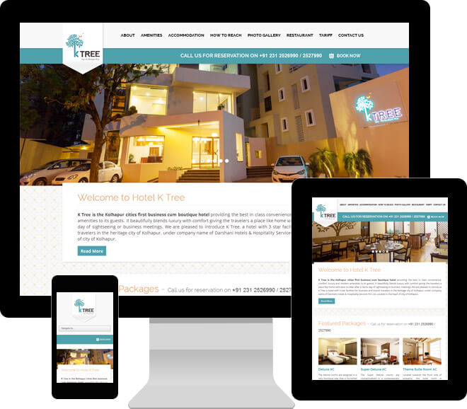 Hotel K Tree Home Page